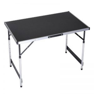 ZNL Table pliante en aluminium pour Camping pliable Hauteur réglable : 100 x 60 x 73/80/87/94 cm) EWT - 01 de la marque ZNL-Garden Series image 0 produit